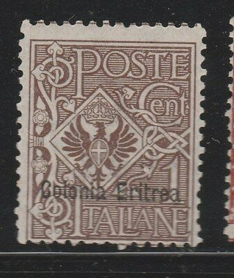 ERITREA 1903 SG19 1c Brown MLH  #