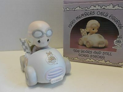 Precious Moments Figurine PM-901 Ten Years And Still Going Strong 1990