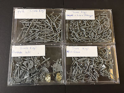Tomb Kings Job lot spares bits- Warhammer Fantasy Death Undead Age of Sigmar oop