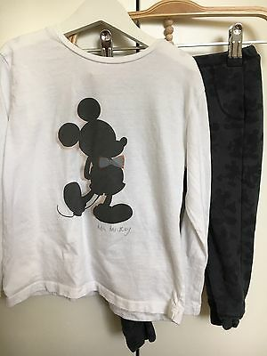 ZARA Baby Boy's Mickey Mouse Top & Leggings - 3/4 Years.