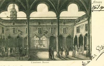 ANVERS L'ancienne bourse     cpa 1288