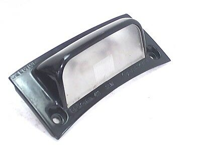 Piaggio License Number Plate Light Assembly 2005 Typhoon 50cc Scooter Vespa