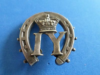Imperial Yeomanry Silver Victorian  Sweeheart badge