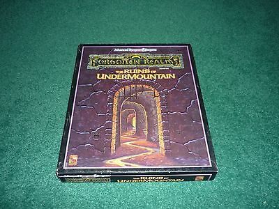 TSR1060 AD&D 2nd Ed. FORGOTTEN REALMS BOXED SET THE RUINS OF UNDERMOUNTAIN