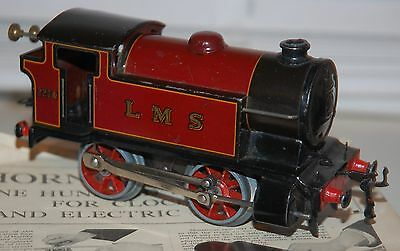 Hornby O Gauge Type 101 Loco In Lms Red Livery With Repair Box