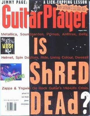 Guitar Player 1993 August Page..wes..prince Cover, Stone Temple Pilots, Bolton