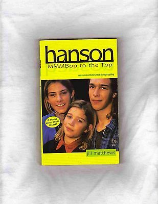 "Hanson Paperbook Book 1997 Biography ""mmmbop"" Unauthorized Biography By Matthews"