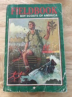 1984 Field Book Boy Scouts Of America (paperback)
