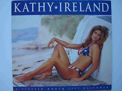 Kathy Ireland 1997 Calendar 16 Months, Hometown Graphics By Day Dream, Inc.