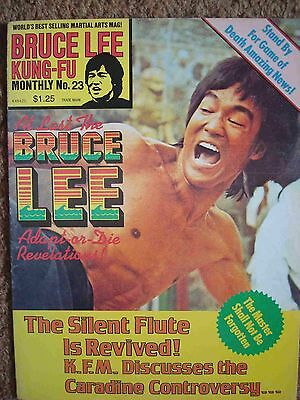 Kung-Fu Monthly #23 Bruce Lee Cover, Adapt-Or-Die Revelations, Poster 1977