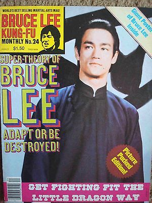 Kung-Fu Monthly #24 Bruce Lee Cover, Super-Theory Of Bruce Lee, Poster 1977