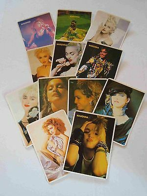 Madonna #1,  1992 Calendar Cards, Portuguese Language, Set Of 12 Cards