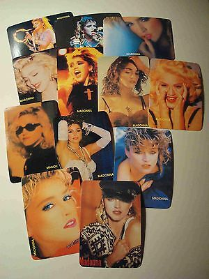 Madonna #4, 1992 Calendar Cards, Portuguese Language, Set Of 12 Cards