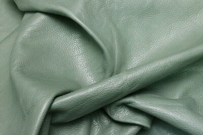 Leather Hide Cowhides Upholstery Skins Craft / Green 1