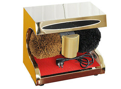 New High End Stainless Steel Automatic Induction Home Public Shoe Dryer Gold&$