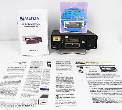 Palstar R30CC Shortwave AM SSB CW Receiver w/ Collins Filters **WONDERFUL UNIT**