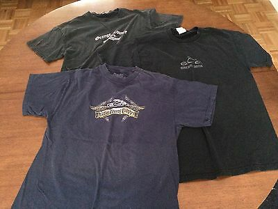 Lot of 3 Orange County Choppers T-Shirts M