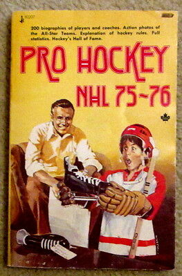 Pro Hockey 75-76 Jim Proudfoot National Hockey League season preview c
