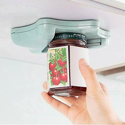 V Shape Beer Bottle Jar Can Opener Under Cabinet Convenient Kitchen Tool Green