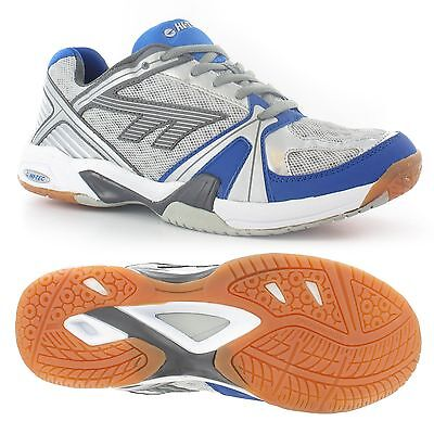 Hi-Tec Indoor Lite Mens Performance Trainers Squash Tennis Court Shoes