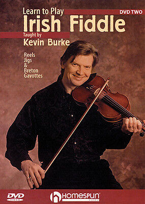 Learn to Play Irish Fiddle Lesson 2 Kevin Burke Violin Lessons Video DVD NEW