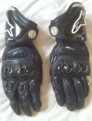 Alpinestars gp pro gloves, size Medium in need of a Large.