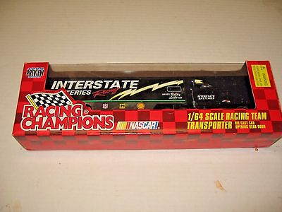 Interstate Batteries Racing transporter truck original box perfect condition