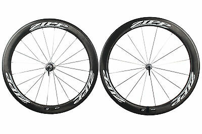 Zipp 404 Carbon Clincher Road Bike Wheel Set 700c