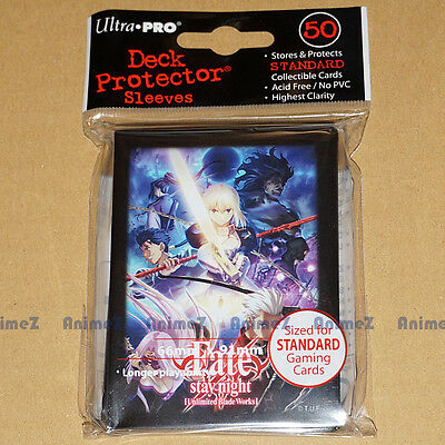 Fate/Stay Night [UBW] Deck Protector Sleeves pack of 50 by Ultra Pro *NEW*