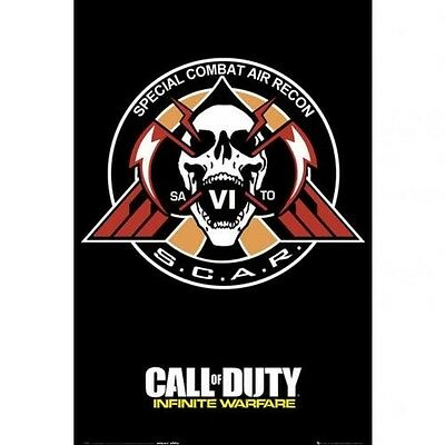 Call Of Duty Infinite Warfare Scar 61cm x 91cm Large Wall Poster 249 Free UK PP