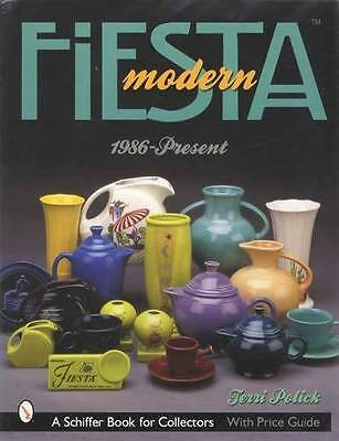 Post 86 Fiesta Pottery ID Book Cobalt Apricot Rose MORE