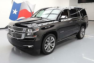 "2015 Chevrolet Tahoe LTZ Sport Utility 4-Door 2015 CHEVY TAHOE LTZ 4X4 SUNROOF NAV DVD 22"" WHEELS 52K #102412 Texas Direct"
