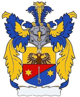 Authentic 8.5 X 11 COAT OF ARMS Print on Archival Gloss Cardstock (crest  family