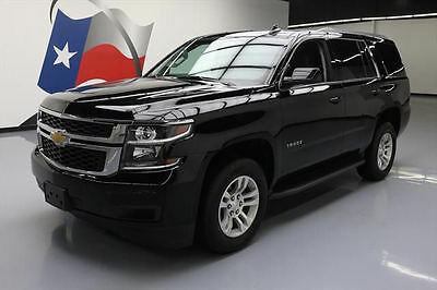 2017 Chevrolet Tahoe LT Sport Utility 4-Door 2017 CHEVY TAHOE LT 4X4 8-PASS LEATHER NAV REAR CAM 24K #138454 Texas Direct