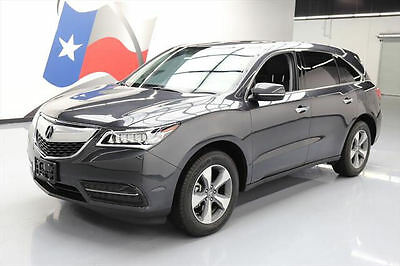 2016 Acura MDX SH-AWD Sport Utility 4-Door 2016 ACURA MDX SH-AWD SUNROOF HTD SEATS REAR CAM 7K MI #049429 Texas Direct Auto
