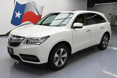 2015 Acura MDX Base Sport Utility 4-Door 2015 ACURA MDX 7-PASS HTD SEATS SUNROOF REAR CAM 22K MI #012548 Texas Direct
