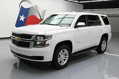2017 Chevrolet Tahoe LT Sport Utility 4-Door 2017 CHEVY TAHOE LT 8-PASS HTD LEATHER NAV REAR CAM 19K #135635 Texas Direct