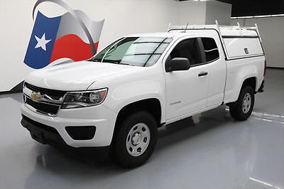 2017 Chevrolet Colorado  2017 CHEVY COLORADO EXT CAB UTILITY BED TOPPER 1K MILES #169265 Texas Direct