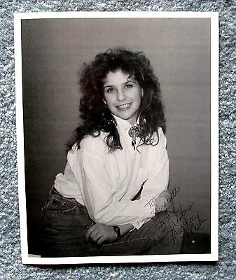 Canadian Country Singer Tara Lyn Mohr 8x10 Signed Photograph meac5