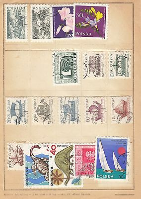 POLAND Collection On Page VFU (d)