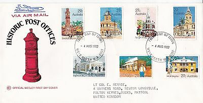 Australia 1982 Historic Post Offices FDC West Perth CDS VGC