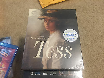 Tess (Blu-ray DVD, 2014, 3-Disc Set, Criterion Collection) NEW