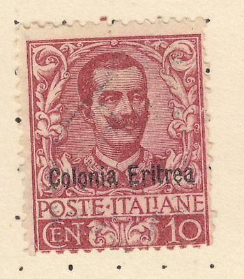 ERITREA SG 22 10c Red King Fine Used