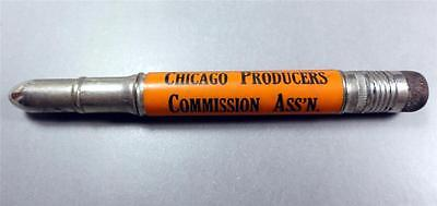 CHICAGO IL. Bullet Pencil CHI. PRODUCERS COMM. ASS'N UNION STOCK YARDS ME6821