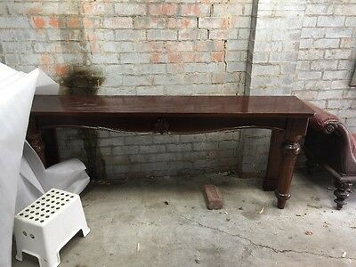 STUNNING Antique Hall Table
