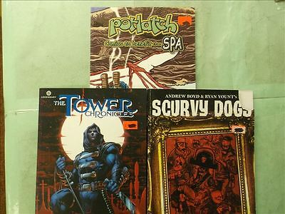 Lot of 3 Paperback Premium Comics