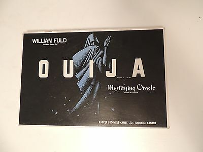 Vintage Ouija Board with Planchette Mystical Oracle Talking Board William Fuld