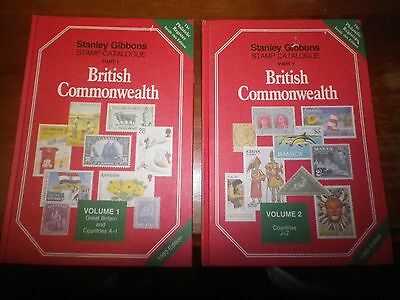 Stanley Gibbons Stamp Catalogues Part 1 British Commonwealth A - Z 1993.