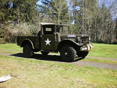 1952 M37 Dodge 3/4 Ton Weapons Carrier / Military Power Wagon