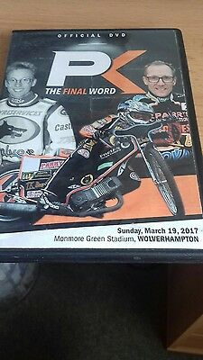 Wolves Peter Karlsson Farewell 2017 Original Speedway Dvd